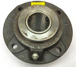 "high temperature DODGE FC-E-107 E-SERIES 4-BOLT ROUND PILOTED FLANGE BEARING 1-7/16"" BORE USED"