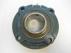 "high temperature DODGE FCSC203 Flange-Mount Ball Bearing Four-Bolt Piloted 2-3/16"" Bore *NIB*"