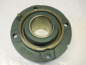 high temperature DODGE FCE207R TYPE E FLANGE PILOTED SPHERICAL BEARING UNIT 023133 2-7/16 BORE