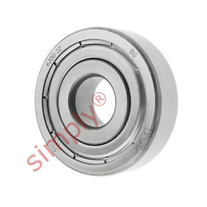 high temperature SKF 62002Z Metal Shielded Deep Groove Ball Bearing 10x30x9mm