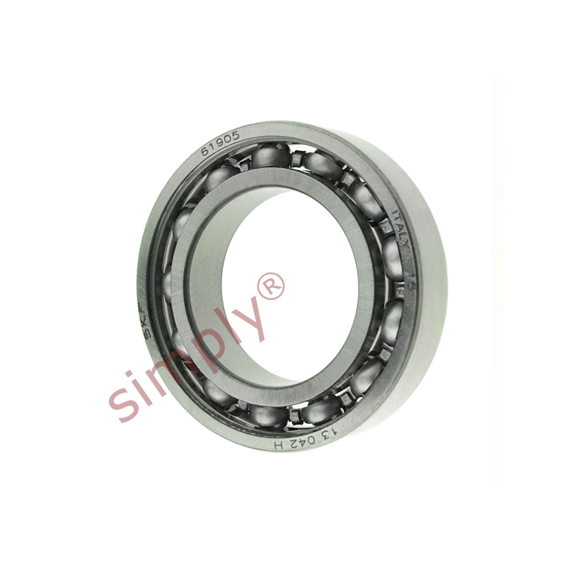 high temperature SKF 6905 Open Type Thin Section Deep Groove Ball Bearing 25x42x9mm