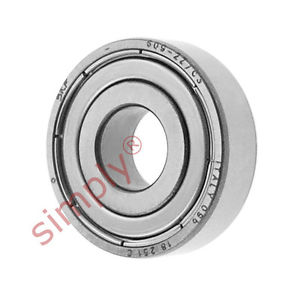 high temperature SKF 6092ZC3 Metal Shielded Deep Groove Ball Bearing 9x24x7mm
