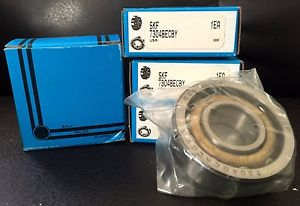 high temperature NIB  SKF 7304BECBY 7304 BECBY ANGULAR CONTACT BALL BEARING,SINGLE ROW,GERMANY