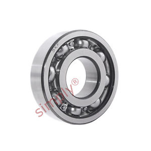 high temperature SKF 6204TN9C3 Open Deep Groove Ball Bearing with Glass Fibre Cage 20x47x14mm