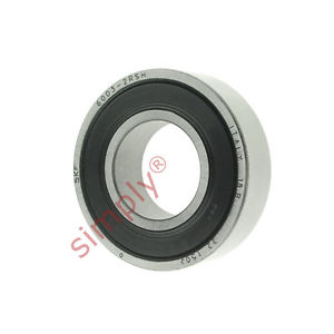high temperature SKF 60032RSH Rubber Sealed Deep Groove Ball Bearing 17x35x10mm