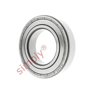 high temperature SKF 62102ZC3GJN Shielded High Temp Deep Groove Ball Bearing 50x90x20mm