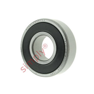 high temperature SKF 62032RSHC3 Rubber Sealed Deep Groove Ball Bearing 17x40x12mm