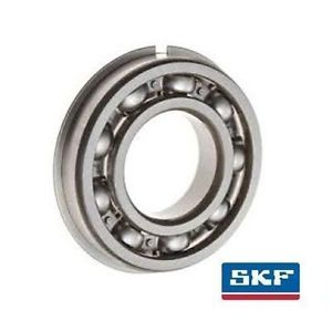 high temperature 6008-NR 40x68x15mm Open Type Snap Ring SKF Radial Deep Groove Ball Bearing