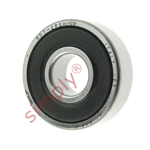 high temperature SKF 6072RSHC3 Rubber Sealed Deep Groove Ball Bearing 7x19x6mm