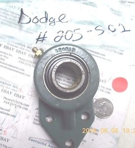 high temperature Dodge 205-SC1 Pillow Block Bearing/Bearings
