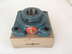 "high temperature Dodge Flange Bearing 1-7/16"" Pillow Block F4B-UN2-107 New In Box"