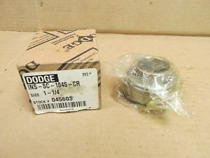 "high temperature NIB DODGE INS-SC-104S-CR BEARING INSERT 1-1/4"" BORE INSSC104SCR 045603"