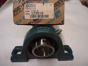 "high temperature DODGE 123818 P2B-SC-115 1-15/16 PILLOW BLOCK BEARING """" 02BSC115 1-15/16"