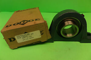 high temperature Dodge Two Bolt Pillow Block Bearing Unit P2BSC107NL New