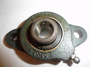 "high temperature Dodge 5/8"" SC-5/8 Flange Bearing, 2 Hole, 124050"