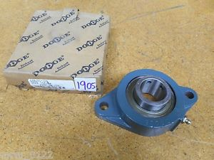 "high temperature Dodge F2B-SC-106 2 Bolt Mounted Bearing 1-3/8"" New"