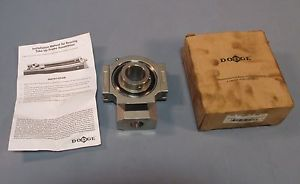 "high temperature Dodge 136845 WSTU-SCEZ-104-SHSS Stainless Take Up Bearing 1-1/4"" Bore NIB"