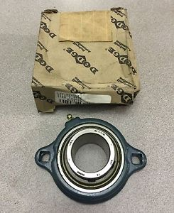 high temperature  IN BOX DODGE LFTSC107 2-BOLT FLANGE BEARING 1-7/16 BORE LFT-SC-107 124653