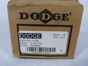 high temperature Dodge INS-S2-115R Flanged Bearing !  !
