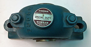 "high temperature DODGE 066302 P2B-SD-200 2"" SPECIAL DUTY PILLOW BLOCK BEARING"