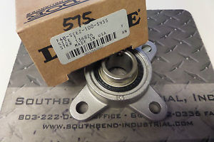 high temperature Dodge Four Bolt Flange Stainless Bearing F4B-SCEZ-100-SHSS F4BSCEZ100SHSS New
