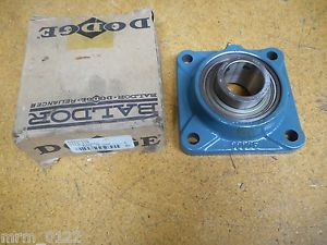 high temperature Dodge F4B-SC-40M 4 Bolt Flange Bearing 40mm ID New Old Stock