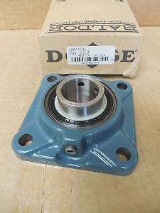 """high temperature Dodge Reliance 4-Bolt Flange Bearing F4BSC107NL 1-7/16"""" Bore New"""