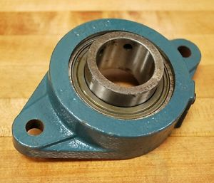 high temperature Dodge F2B-VSC1-11/16 Ball Bearing Flange 124058 Block, F2B Style, Series 209