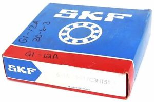 high temperature FACTORY SEALED SKF 6315-2RS1 DEEP GROOVE BALL BEARING 6315-2RS1/C3HT51