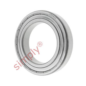 high temperature SKF 6012Z Metal Shielded Deep Groove Ball Bearing 60x95x18mm