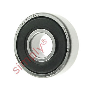 high temperature SKF 6082RSH Rubber Sealed Deep Groove Ball Bearing 8x22x7mm