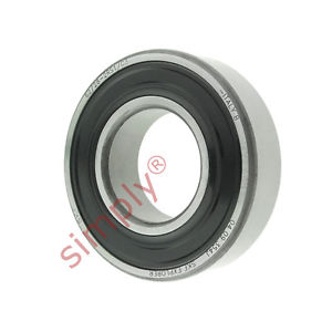 high temperature SKF 62/282RS1C3 Rubber Sealed Deep Groove Ball Bearing 28x58x16mm
