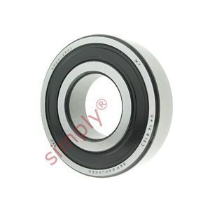 high temperature SKF 63092RS1 Rubber Sealed Deep Groove Ball Bearing 45x100x25mm