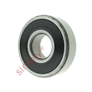 high temperature SKF 63042RS1C3GJN Sealed High Temp Deep Groove Ball Bearing 20x52x15mm