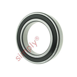 high temperature SKF 60122RS1C3 Rubber Sealed Deep Groove Ball Bearing 60x95x18mm