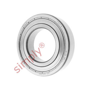 high temperature SKF 62092Z Metal Shielded Deep Groove Ball Bearing 45x85x19mm