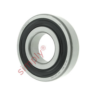 high temperature SKF 63082RS1C3 Rubber Sealed Deep Groove Ball Bearing 40x90x23mm
