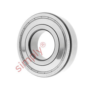 high temperature SKF 63092ZC3 Metal Shielded Deep Groove Ball Bearing 45x100x25mm
