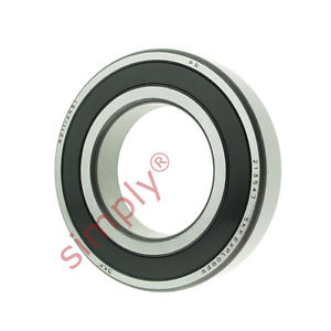 high temperature SKF 62112RS1 Rubber Sealed Deep Groove Ball Bearing 55x100x21mm