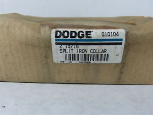 "high temperature Dodge 010104 Split Iron Collar 2 15/16"" Sealed in Package !  !"