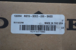 high temperature Dodge 136994 NSTU-SCEZ-200-SHSS Take Up Assembly Narrow Slot