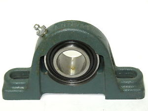 high temperature DODGE RELIANCE ELECTRIC P2BSCUAH103 123916 PILLOW BLOCK BALL BEARING 1 3/16""
