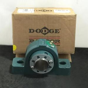 high temperature New Dodge Pillow Block Roller Bearing Unit Part# P2B-IP-108LE