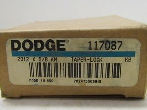 "high temperature 2012×5/8 KW Tape Lock Bushing 5/8"" Bore 117087 Dodge Browning Martin Woods"