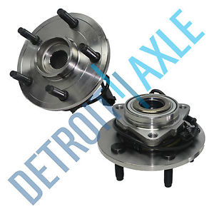 high temperature Pair (2)  Front Wheel Hub and Bearing Assembly 2002-2005 Dodge Ram 1500