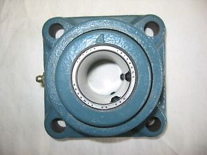 """high temperature Dodge Type E-XTRA 023096 Flange Mount Bearing F4BE107R 1-7/16"""" Bore"""