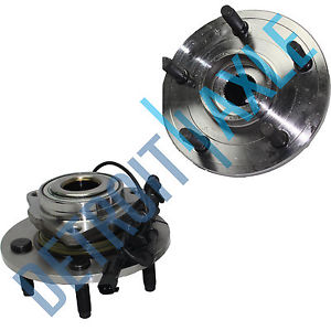 high temperature 2  Front Wheel Hub and Bearing  W/ ABS 2006-2008 DODGE Ram 1500  2WD & 4X4