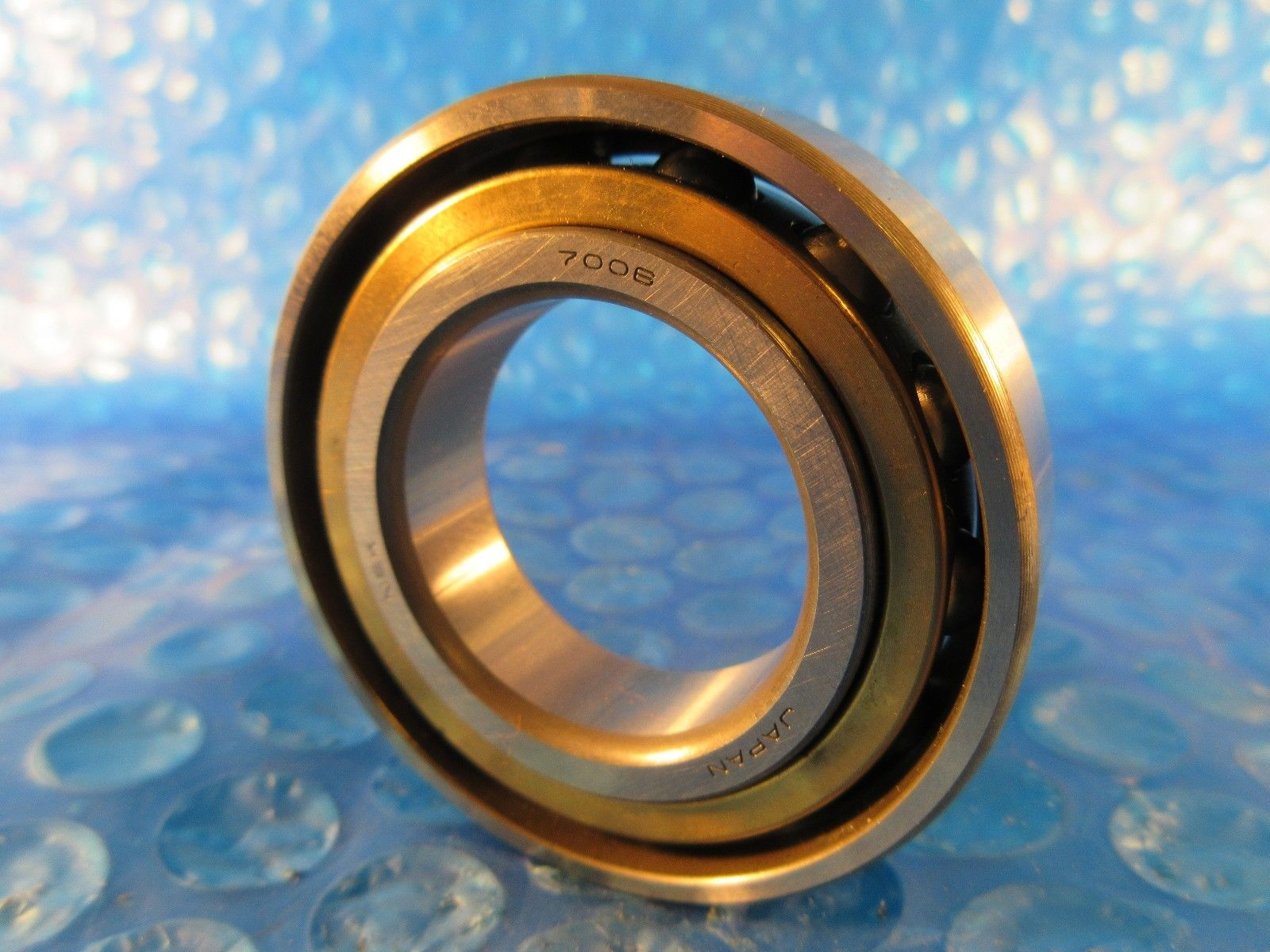 high temperature NSK 7006A ANGULAR CONTACT BEARING, BRONZE CAGE, 30 MM X 55 MM X 13MM
