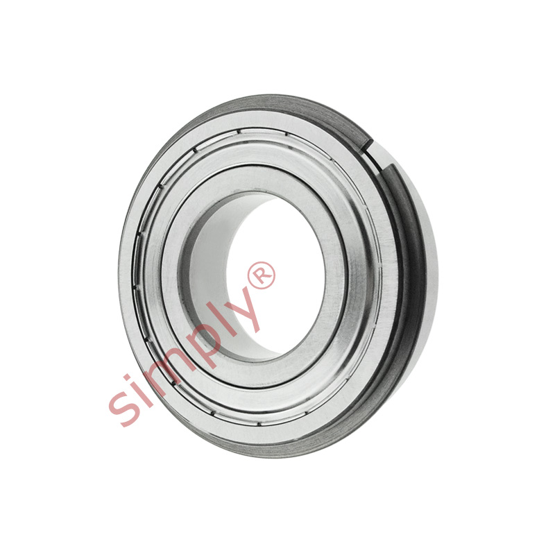 high temperature SKF 62002ZNR Sealed Snap Ring Deep Groove Ball Bearing 10x30x9mm