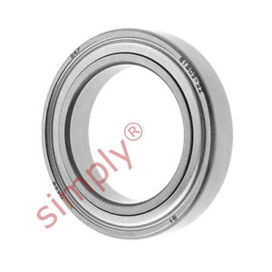 high temperature SKF 68032Z Metal Shielded Thin Section Deep Groove Ball Bearing 17x26x5mm